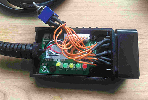 elm327 modift mscan bus for FORScan