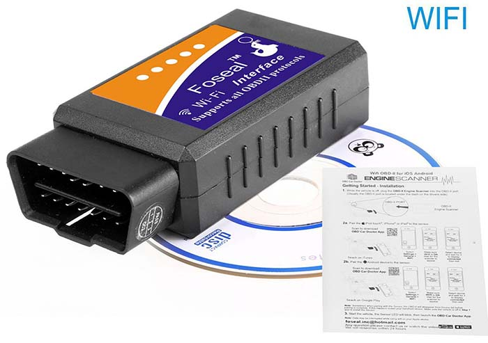 Foseal Wifi OBD2 Scan Adapter Android iOS Reviews 2018