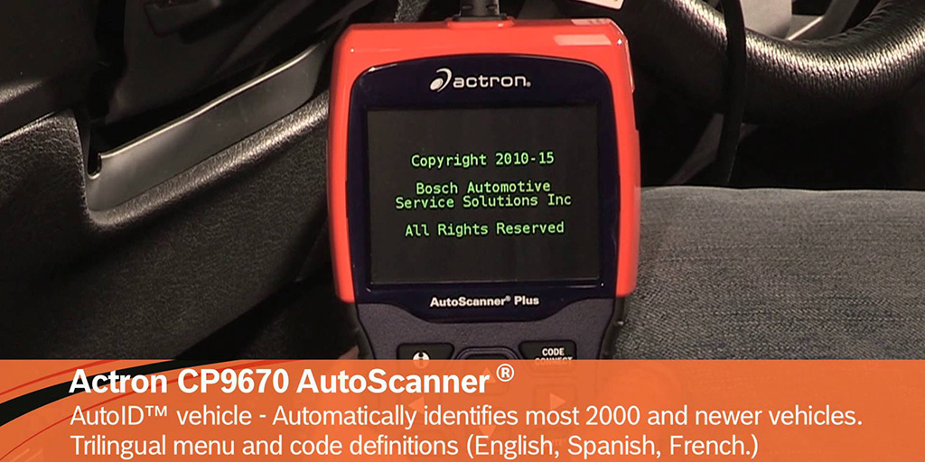 actron cp9670 scanner