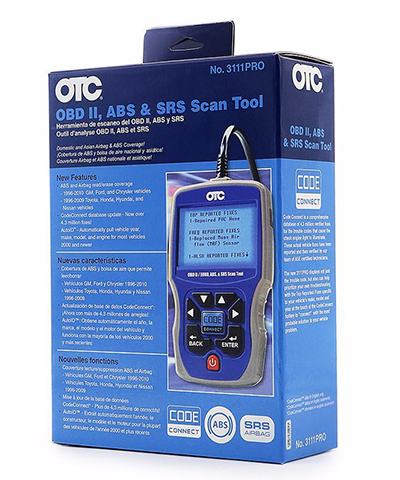 Otc 3111 Pro Obdii Abs Srs Scan Tool Reviews 2018 Topscantool