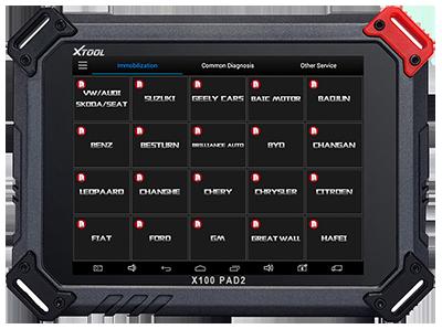 OBDSTAR X300 DP Vs Xtool X-100 PAD2 Comparison - TopScanTool